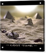 Lost Time Acrylic Print