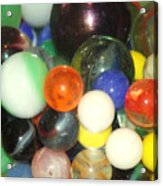 Lost Your Marbles Acrylic Print