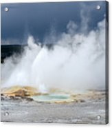 Lots Of Steam Acrylic Print