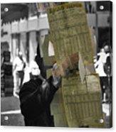 Lottery Man Acrylic Print