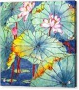 Lotus #2 Acrylic Print