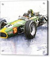 Lotus 49 Ford F1 Jim Clark Acrylic Print