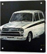 Lotus Cortina Acrylic Print