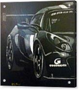 Lotus Exige Gt3 Side Acrylic Print