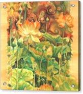 Lotus Field Acrylic Print