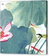 Lotus Figure Acrylic Print