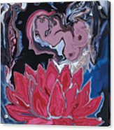 Lotus Love Acrylic Print