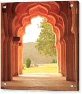 Lotus Mahal Acrylic Print