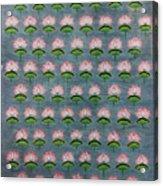 Lotus Pichwai Miniature Acrylic Print