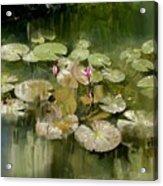 Lotus Pond 1 Acrylic Print