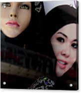 Lou And Tina Acrylic Print