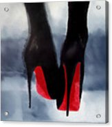 Louboutin At Midnight Acrylic Print