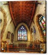 Loughborough Church - Altar Vertorama Acrylic Print