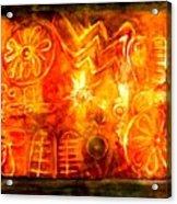 Loughcrew Backstone At Solstice Acrylic Print
