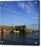 Loughshinny Cove Harbour Acrylic Print