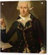 Louis Antoine De Bougainville 1790 Acrylic Print