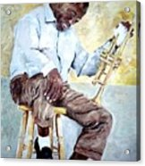 Louis Armstrong- Pops Acrylic Print