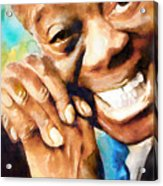 Louis Armstrong  What A Wonderful World  Acrylic Print