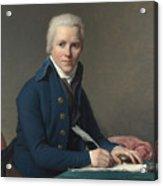 Louis David   Portrait Of Jacobus Blauw Acrylic Print