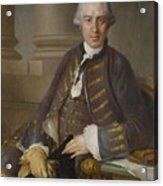 Louis-gabriel Blanchet Paris 1705 - 1772   Portrait Of A Gentleman Acrylic Print