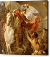 Louis Galloche - A Scene From The Life Of St. Martin Acrylic Print