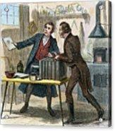 Louis J.m. Daguerre Acrylic Print