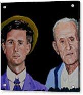 Louis Life Portrait Acrylic Print