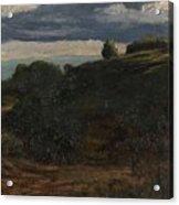 Louis Michel Eilshemius American 1864-1941 Summer Twilight, 1884 Acrylic Print