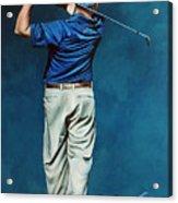 Louis Osthuizen Open Champion 2010 Acrylic Print