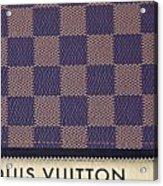 Louis Vuitton Mens Wallet Acrylic Print
