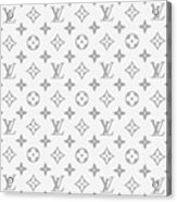 Louis Vuitton Pattern - Lv Pattern 14 - Fashion And Lifestyle Acrylic Print
