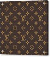 Louis Vuitton Texture Acrylic Print