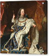 Louis Xv Of France As A Child Acrylic Print