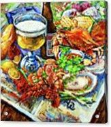 Louisiana 4 Seasons Acrylic Print