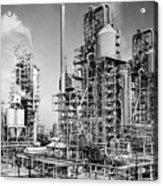 Louisiana: Oil Refinery Acrylic Print
