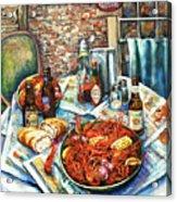 Louisiana Saturday Night Acrylic Print