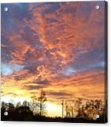 Louisiana Sunset 1 Acrylic Print