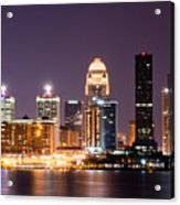Louisville 1 Acrylic Print by Amber Flowers