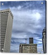 Louisville Blue Sky Acrylic Print