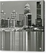 Louisville Gray Acrylic Print