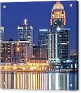 Louisville Kentucky Lights Acrylic Print