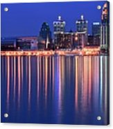 Louisville Lights Up Nicely Acrylic Print