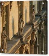 Louvre Exterior Acrylic Print