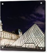Louvre Museum 2 Art Acrylic Print
