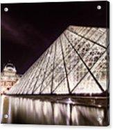 Louvre Museum 4 Art Acrylic Print