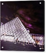 Louvre Museum 5 Art Acrylic Print