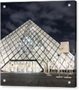 Louvre Museum Art Acrylic Print