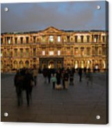 Louvre Palace, Cour Carree Acrylic Print