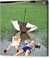 Love A Rainy Day Series Acrylic Print