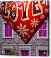 Love Above Acrylic Print